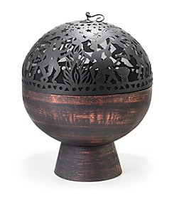 Good Directions® Oversized Fire Bowl with Full Moon Party FireDome