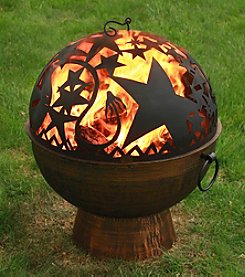 Good Directions® Oversized Fire Bowl with Orion FireDome