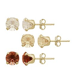 Impressions® Swarovski® Crystal Earrings Set