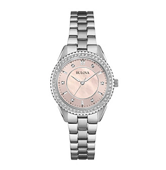 Bulova® Women's Crystal Watch