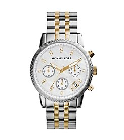 Michael Kors® Women's Two-Tone Ritz Watch