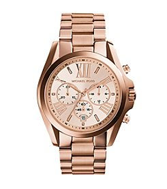 Michael Kors® Women's Rose Goldtone Bradshaw Watch