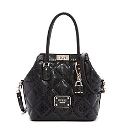 GUESS Ophelia Turn Lock Satchel