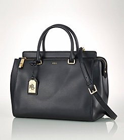 Lauren Ralph Lauren Leather Whitby Satchel