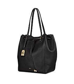 Lauren Ralph Lauren Oxford Leather Tote