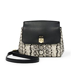 Lauren Ralph Lauren® Whitby Snake-Embossed Crossbody Bag