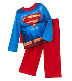 Superman Boys' 2T-6 Superman Cape Pajama Set