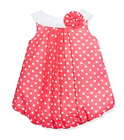 Baby Essentials® Baby Dot Bubble Romper