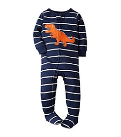 Carter's® Boys' 12M-4T One Piece Dino Striped Sleeper