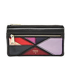 Fossil®  Preston Patchwork Flap Clutch