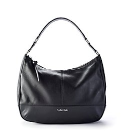 Calvin Klein Mary Leather Hobo Bag