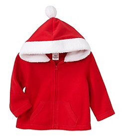 Cuddle Bear® Mix & Match Baby Boys' Microfleece Santa Hoodie