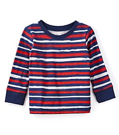 mix&MATCH Baby Boys' Long Sleeve Crew Neck Striped T-Shirt