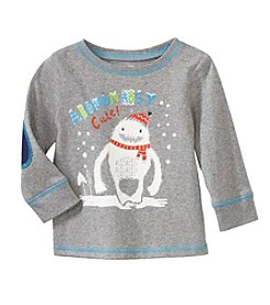 Cuddle Bear® Mix & Match Baby Boys' Long Sleeve Crew Neck Abominable T-Shirt
