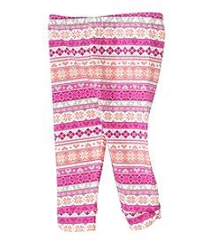 Cuddle Bear® Mix & Match Baby Girls' 3-24M Fair Isle Pattern Legging