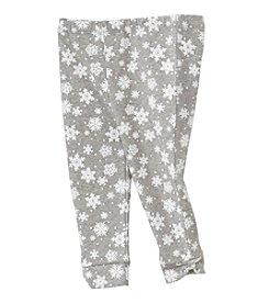 Cuddle Bear® Mix & Match Baby Girls' 3-24 Month Snowflake Pattern Leggings