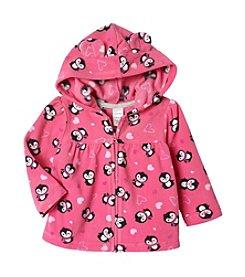 Cuddle Bear® Mix & Match Baby Girls' Penguin Microfleece Jacket
