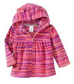 Cuddle Bear® Mix & Match Baby Girls' Space Dye Microfleece Jacket