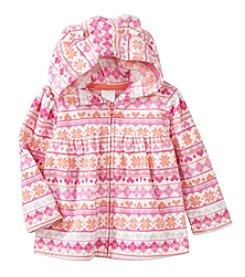Cuddle Bear® Mix & Match Baby Girls' Fairisle Microfleece Jacket