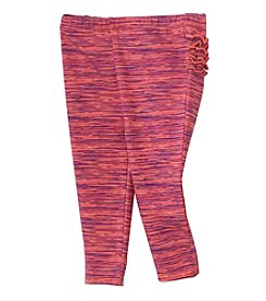 Cuddle Bear® Mix & Match Baby Girls' Space Dye Printed Legging