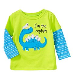 mix&MATCH Baby Boys Dino Graphic Skater Tee