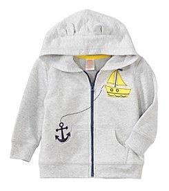 mix&MATCH Baby Boys Full Zip Sailboat Hoodie