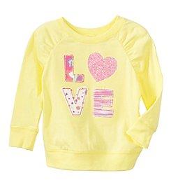 mix&MATCH Baby Girls' 3-24 Month Love-Ly Graphic Sweatshirt