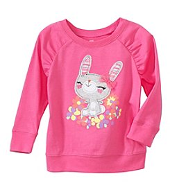 Mix & Match Baby Girls' Bunny Graphic Sweatshirt