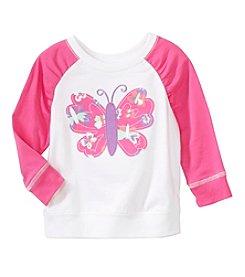 mix&MATCH Baby Girls' 3-24 Month Butterfly Graphic Sweatshirt