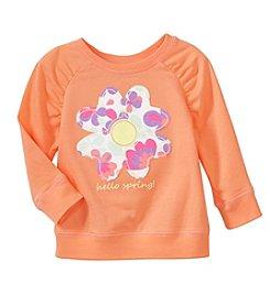 mix&MATCH Baby Girls' 3-24 Months Floral Graphic Sweatshirt