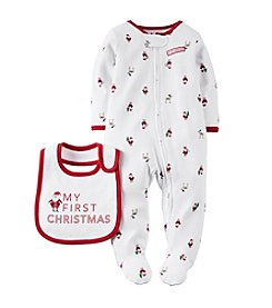 Carter's® Baby Newborn-3M Christmas Sleep & Play Set