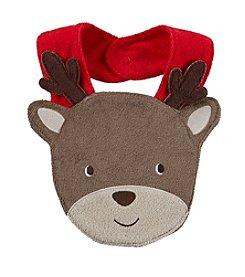 Carter's® Baby Reindeer Terry Teething Bib