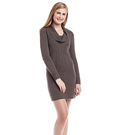 A. Byer Cowlneck Sweater Dress