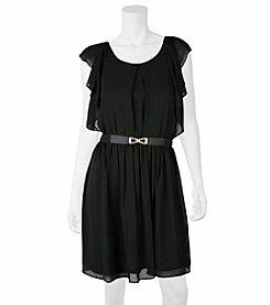 A. Byer Ruffle Dress