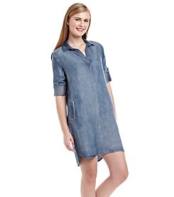 Cloth & Stone® Chambray Shirt Dress