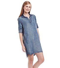 Cloth & Stone® Chambray Shirt Dress