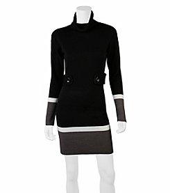 A. Byer Colorblock Dress
