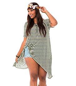 Living Doll So Retro Striped Drape Tunic