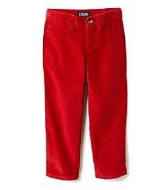 Chaps® Boys' 2T-7 Flat Front Corduroy Pants