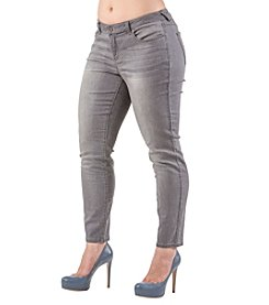 Standards & Practices Plus Size Minnie Skinny Ankle Jeans