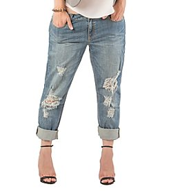 Standards & Practices Plus Size New Boyfriend Jeans
