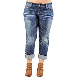 Standards & Practices Plus Size  X-Boyfriend Jeans