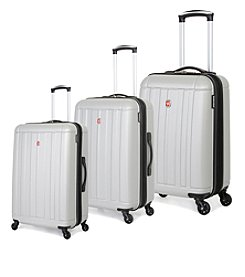 SwissGear® Silver Hardside Luggage Collection