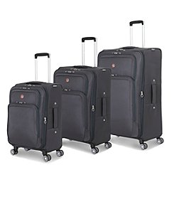 SwissGear® Grey Deluxe Spinner Luggage Collection