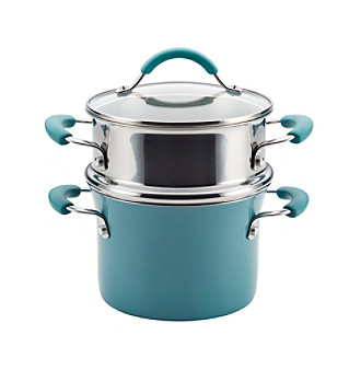 Rachael Ray® Cucina Hard Enamel Nonstick 3-Qt. Covered M