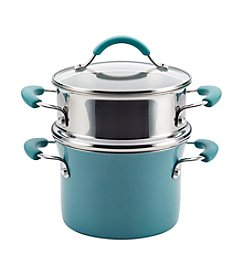 Rachael Ray® Cucina Hard Enamel Nonstick 3-Qt. Covered Multi-Pot Set with Steamer