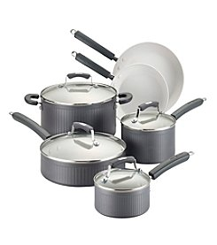 Paula Deen® Savannah Collection Hard-Anodized Nonstick 10-pc. Cookware Set