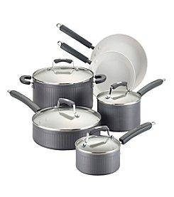Paula Deen® Savannah Collection Hard-Anodized Nonstick 10-pc. Cookware Set