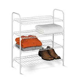 Honey-Can-Do Four-Tier Closet Storage Shelf