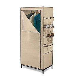 Honey-Can-Do Storage Closet with Shoe Organizer